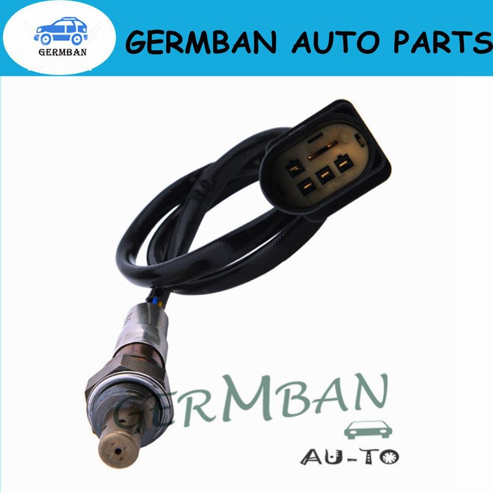 Nueva fabricación de 5 cables de oxígeno O2 Lambda Sensor para A3 V W Golf Skoda Seat Octavia # 06A906262CF 06a9062br (versión mejorada)