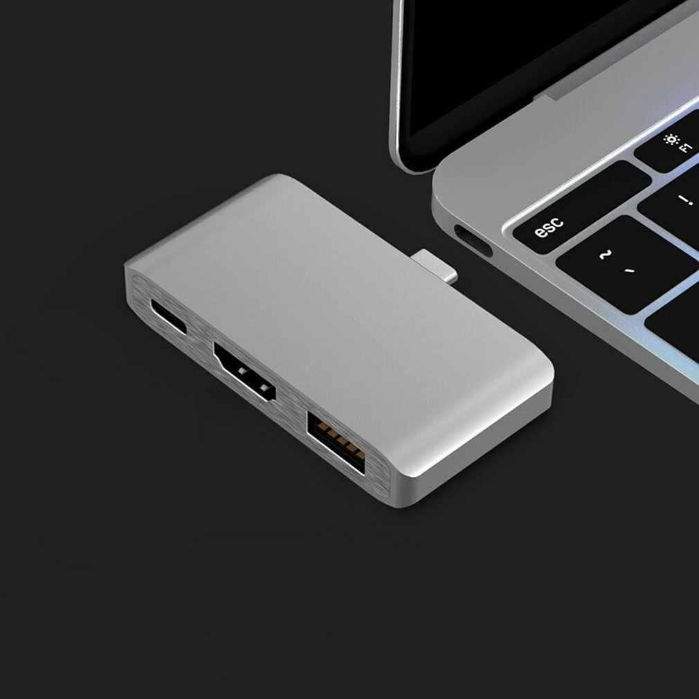 3 USB Type-C концентратор в режим HDMI Dex для Samsung Galaxy S8/S9 с PD USB 3,0 для Macbook Pro Usb-C адаптер