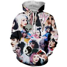 LBG new melanie martinez3D printing hoodie men and women fashion hooded casual Harajuku Sweatshirt hip hop
