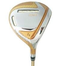 새로운 4 성급 골프 클럽 혼마 S 07 골프 페어웨이 우드 3/5 우드 클럽 R 또는 S 플렉스 흑연 샤프트 및 헤드 커버 무료 배송