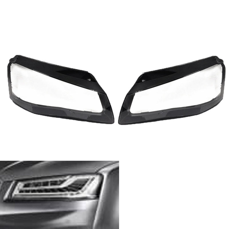 Car Clear <font><b>Headlight</b></font> Lens Cover Replacement <font><b>Headlight</b></font> Headlamp Shell Cover For-<font><b>Audi</b></font> <font><b>A8</b></font> 2011 2012 2013 image