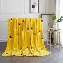 Недорогой домашний текстиль покрывало одеяло высокой плотности