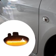 For Citroen C1 C2 C3 C5 Berlingo LED Turn Signal Light Dynamic Side Marker Sequential Blinker For Peugeot 307 206 207 407 Expert led dynamic turn signal side marker light sequential blinker light for peugeot 307 206 207 407 107 607 for citroen c1 c2 c3 c5