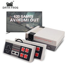 Data Frog Retro Video Game Console AV/HDMI Output TV Consoles Built in 620 Classic Games Dual Gamepad Gaming Player