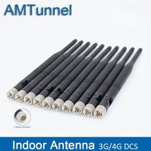 4G LTE เสาอากาศเสาอากาศ 3G 1800MHz 10dBi GSM antenna F ชายในร่ม 10 ชิ้น/ล็อต