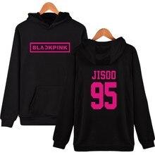Korean KPOP Girl Group Blackpink Hoodies Sweatshirts Women Black Pink Hooded Sweatshirt Camisas Feminina Clothes