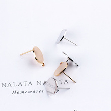 6pcs round hanging hook stud ear for women fashion earrings diy jewelry making accessories