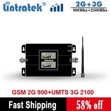 をlintratek 2 グラム 3 グラムgsm 900 wcdma 2100 デュアルバンド携帯電話の信号リピータgsm 3 グラムumts携帯ブースターアンプKW17L GW
