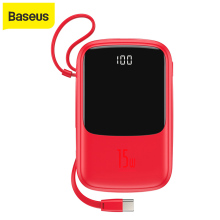 Baseus 10000mAh Power Bank 15W Phone Charger 4 Output And 2