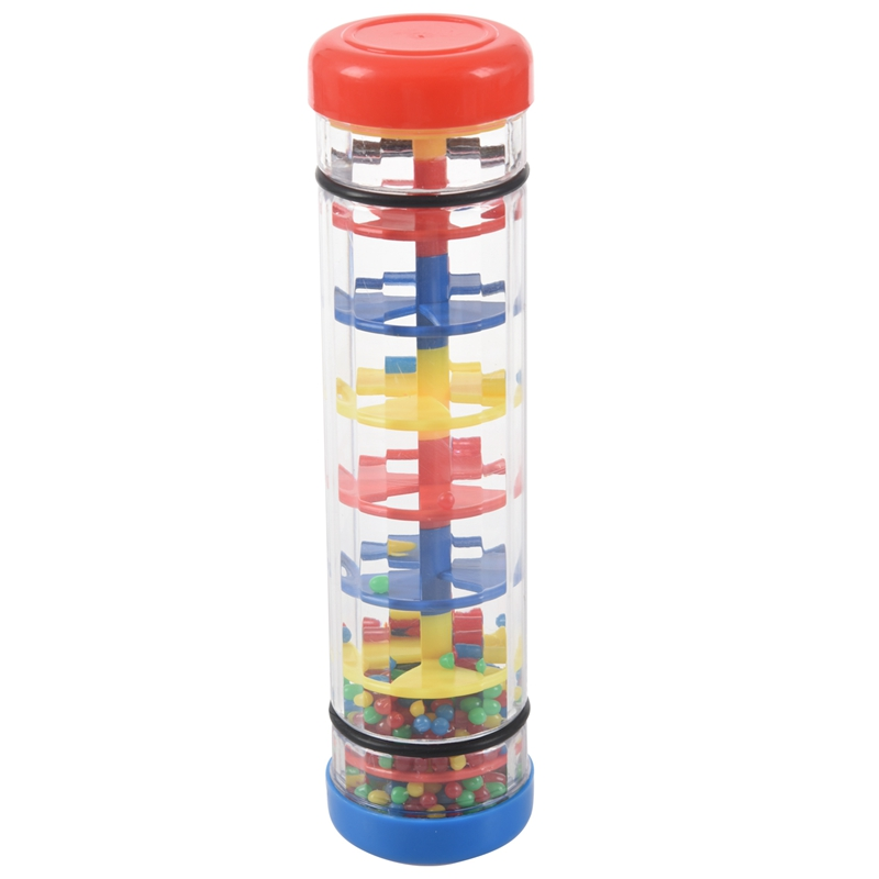 Early Learning Centre Baby Music Rainmaker Instrument Toy Tube Shaker
