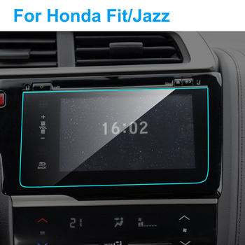 Car GPS Navigation Screen Protector for Honda Fit Jazz HD Clear Screen Tempered Glass Protective Film Auto Interior Accessories image