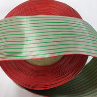 61m / roll Red gray green Cable 64P Flat Cable Wire 28AWG 64PIN can be matched with 2.54 crimp terminal FC