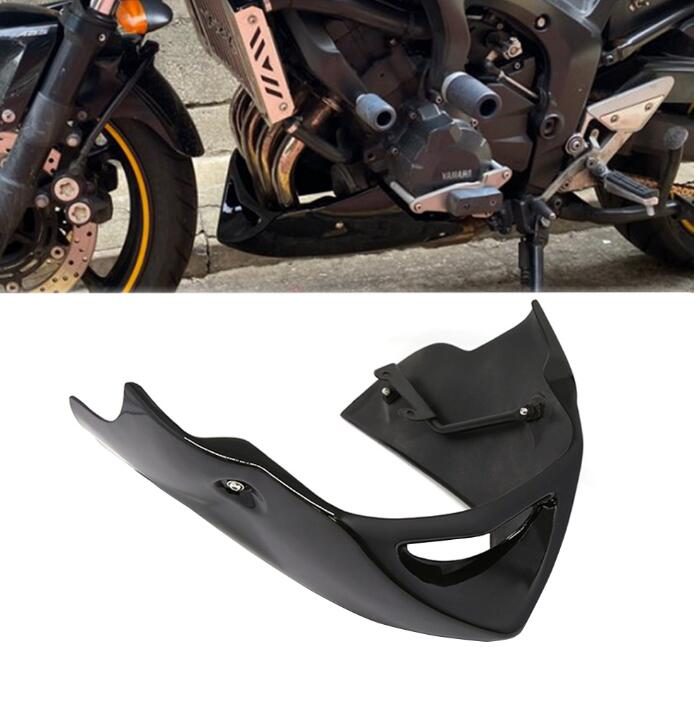 Motorcycle For Yamaha FZ6 Fazer 600 S2 2004 2005 2006 2007 2008 2009 2010 Belly Pan Lower Cover Bug Spoiler Puntale Black