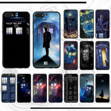 Tardis Box Doctor Who Soft Silicone TPU Phone Cover Customer High Quality For honor 10i 20 lite view 5s y6 play 8c 6 psmartZ(China)