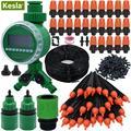 Автоматическая система капельного орошения KESLA для сада  балкона  теплицы  сделай сам  наборы для автоматического полива  регулируемая капе...