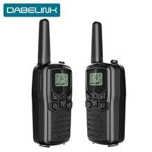 2PCS ווקי טוקי שתי דרך רדיו כוח משדר ntercom חיצוני כף יד מיני נייד Communicator האינטרפון