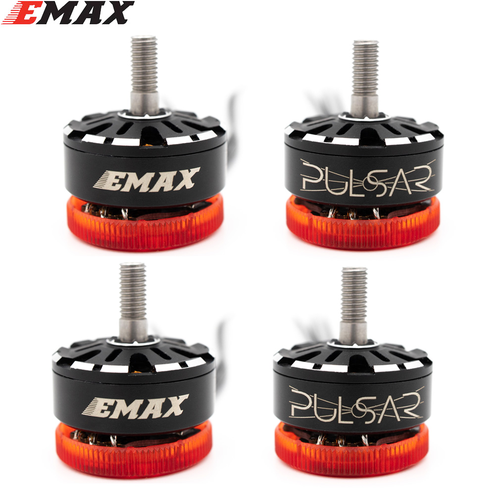 EMAX Pulsar 2306 1700KV 3-6S 2400KV 3-4S LED Light Brushless Motor CW Thread For RC Drone FPV Racing
