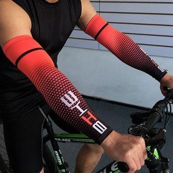 Legal homem ciclismo correndo uv proteção solar manguito capa protetora braço manga bicicleta esporte braço aquecedores mangas 1