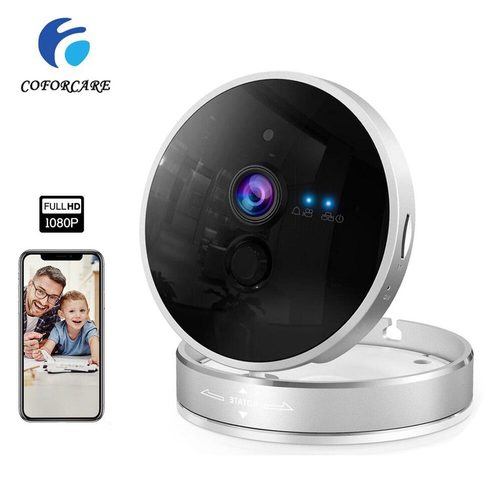 Cámara Wifi 1080P HD CCTV cámara de seguridad del hogar Wifi P2P cámara de vídeo Monitor de bebé IR visión nocturna VideoCam de vigilancia SDETER 1080P Mini cámara inalámbrica WiFi, cámara de seguridad IP CCTV, visión nocturna IR, detección de movimiento, Monitor de bebé P2P