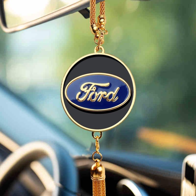 Car Pendant Auto Decorations Automobiles Interior Rearview Mirror Ornaments For Ford Focus 2 3 4 Mondeo Fiesta Ecosport Kuga