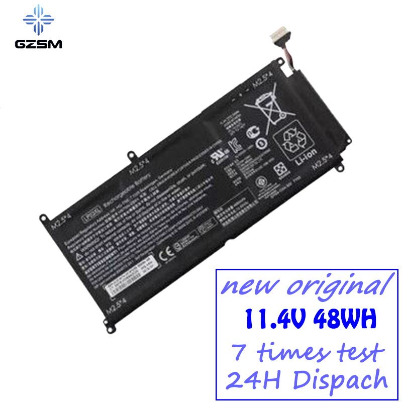 GZSM Laptop Battery LP03XL For HP Envy 15-ae015TX(N1V47PA) 15-ae125tx Battery For Laptop TPN-C121 LP03048X 807211-121 Battery