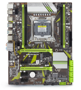 Image 2 - Atermiter X99 D4 اللوحة الأم مع Xeon E5 1630 V3 LGA2011 3 وحدة المعالجة المركزية 1 قطعة X 16 جيجابايت = 16 جيجابايت 2400 ميجا هرتز REG ECC RECC DDR4 الذاكرة