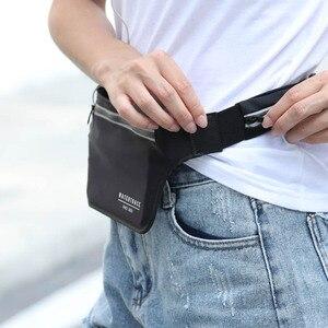 Image 4 - Sac de ceinture pour téléphone portable, sac de voyage étanche, Fitness, multifonctionnel, sac pour passeport course à pied