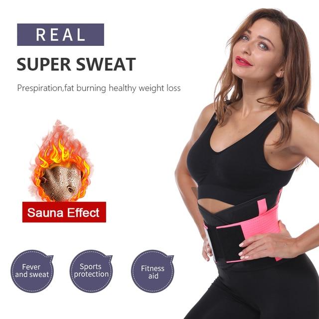 Slim Belt Waist Trainer Waist Shaper Cincher Faja Corset Belt Modeling Strap Waist Trimmer cinta modeladora shapewear 1