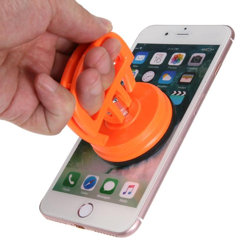 1pc Disassemble Phone Repair Tool LCD Screen Computer Vacuum Strong Suction Cup Car Remover Round Shape