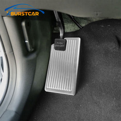 Xburstcar Stainless Steel Car Rest Pedal Cover For Hyundai New Tucson LHD For Kia KX5 QL 2015 - 2019 Accessories