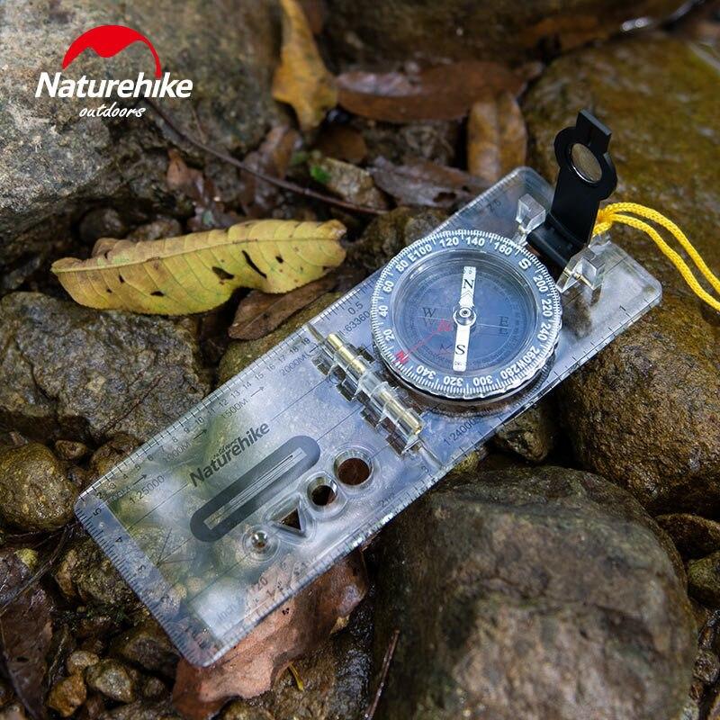 Naturehike Спорт на открытом воздухе складной компас жидкостный наполняющий циферблат прозрачный Высокоточный карта позиционирования компас