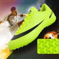 2019 buty piłkarskie profesjonalne korki Suferfly tanie Futsal skarpety korki Sport treningowy trampki Zapatos De Futbol dziecko w Buty piłkarskie od Sport i rozrywka na