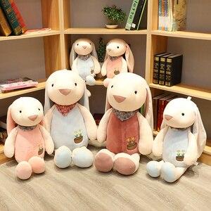 Мягкие милые 1 шт. 30-90 см большие длинные уши кролик плюшевые мягкие игрушки животные кролик дети спят подарок на день рождения