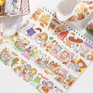 Mohamm 1Pcs Fruit Holiday Series Decoration Tape Cute Lovely Washi Masking Creative Scrapbooking Stationary School Supplies(China)