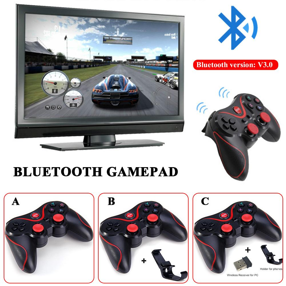 T3 Bluetooth Wireless Gamepad S600 STB S3VR Game Controller Joystick For Android IOS Mobile Phones PC