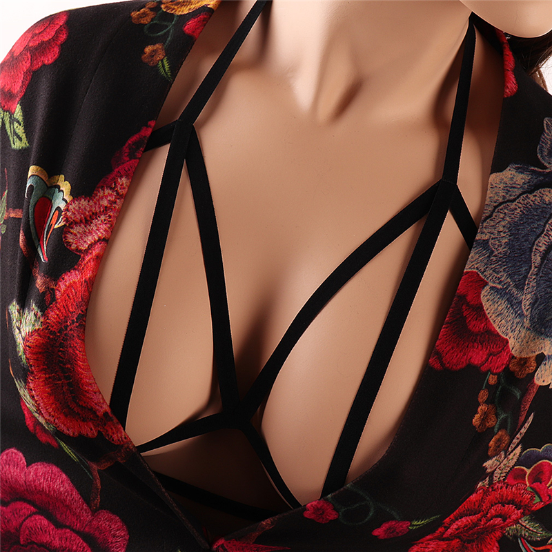 Body Chest Harness Waist Harajuku Belt Tube Top Lingerie Sling Cage Bra Adjustable Strap Designer Suspenders  Suspender Dress
