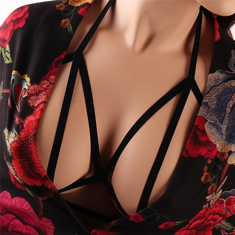 Body Chest Harness Waist Harajuku Belt Tube Top Lingerie Sling Cage Bra Adjustable Strap Designer Suspenders  Suspender Dress