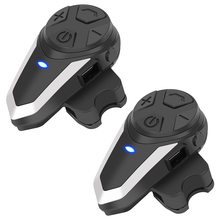 BT-S3 interfone capacete da motocicleta fone de ouvido bluetooth fones de moto sistema comunicação rádio fm
