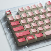 Cartoon Keycap 104 Keys PBT Backlit Keycaps Cherry Mx Switches Key Caps with Puller for Mechanical Keyboard