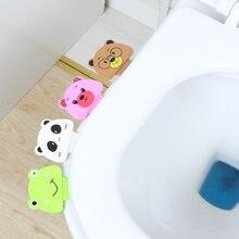 1pcs portátil assento do toalete levantadores conveniente para o dispositivo da tampa do toalete é mencionar toalete potty anel lidar com casa de banho produtos conjunto