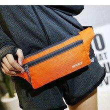 Спортивная поясная сумка, водонепроницаемая, для бега, нагрудная сумка, многофункциональная, противоугонная, сменная сумка для мобильного телефона