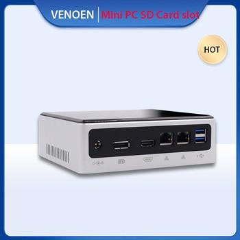 10TH ITX 미니 PC Intel Core i7 10610U 8559U i5 10210U 8259U M.2 NVME SSD PCIE Wifi Type-C 소형 컴퓨터 i3 7020U SD 카드 슬롯