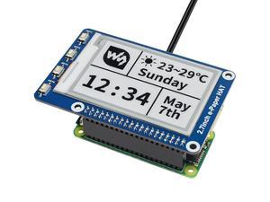 Image 5 - Waveshare 2.7 e 紙、 264 × 176 、 2.7 インチ電子インクディスプレイ帽子ラズベリーパイ 2B/3B/ゼロ/ゼロワット、色: 黒、白、 SPI インタフェース
