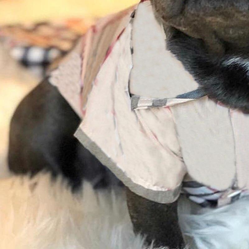 camisa para chihuahua jaqueta fina para bulldog