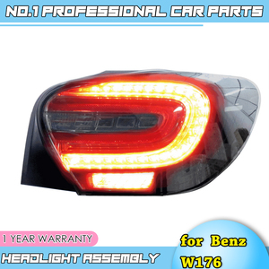 Image 3 - car accessories for Mercedes Benz W176 taillight lamp 2014 2015 for A180 A200 A220 A260 led rear lamp led taillight