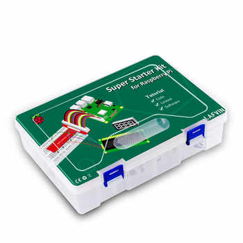 LAFVIN Super Starter Kit for Raspberry Pi, Model 3B+ 3B 3A+ 2B 1B+ 1A+ Zero W+ Diy Kit