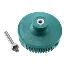 Polishing Wheels Electric Drill Disc Abrasive Brush Disc Brush Rubber Emery Deburring Tool for Cleaning Cordless Drill Power set
