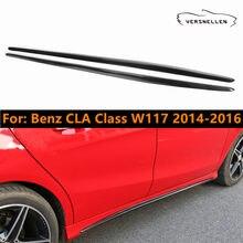 Housse de décoration de voiture pour becquet, tablier de jupe latérale pour Mercedes Benz W117 classe CLA CLA250 CLA45 AMG 2014 2015 2016