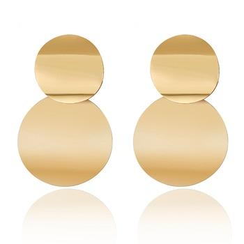 2019 Promotion Pendientes Aretes Fashion Statement Earrings Big Geometric For Women Hanging Dangle Drop Earing Modern Jewelry 1