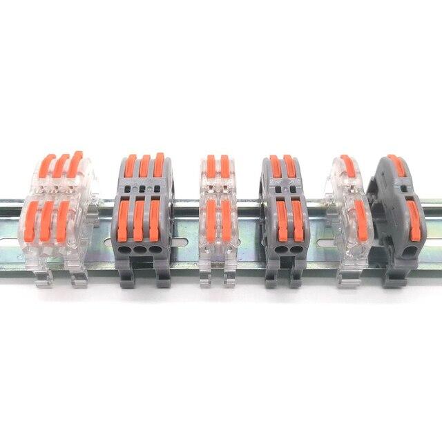 Фото миниатюрные быстроразъемные соединители для проводов универсальный